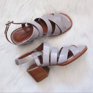 Jeffrey Campbell Sharla sling block heel sandal